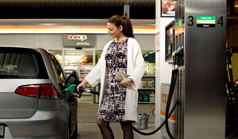 Die Coop Pronto Shops Mit Oder Ohne Tankstelle Stehen Für Das